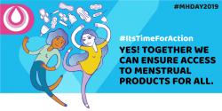 Menstrual Hygiene Day 2019